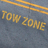 TOW ZONE Stencil - Parking Lot Stencils - Industrial Stencils--StencilsLab Wall Stencils