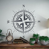 Compass Stencil - Rose Wind Wall Stencil