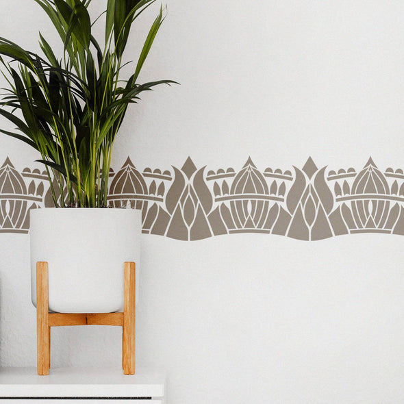 wall border stencils- wall border stencils for painting- stencil patterns for wall borders