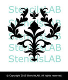 Wall Stencil - Classic Damask Stencil - Stencil For DIY Home Decor