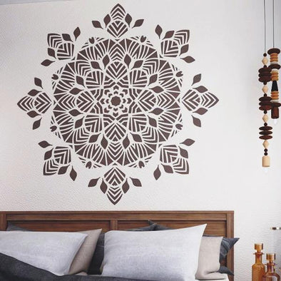 Large Mandala Stencil For Walls
