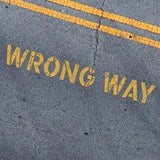 WRONG WAY Stencil - Parking Lot Stencils - Industrial Stencils--StencilsLab Wall Stencils