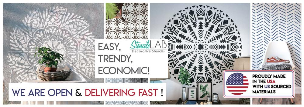 StencilsLAB | Wall Stencils Collection