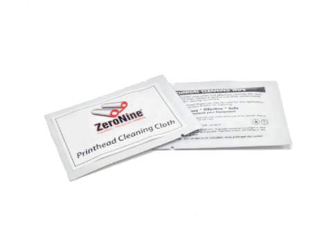 Print Head Cleaning Cloth - ZeroNine Mfg. Co., Inc.