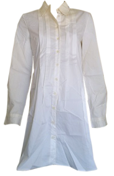 LONG SLEEVE SHIRT WITH PLEATS