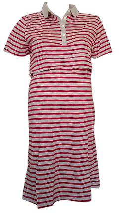 POLO STRIPE SHIRT DRESS BF