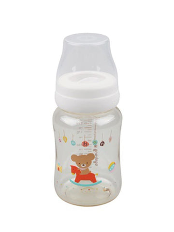 Wooden Horse Bear Baby Bottle