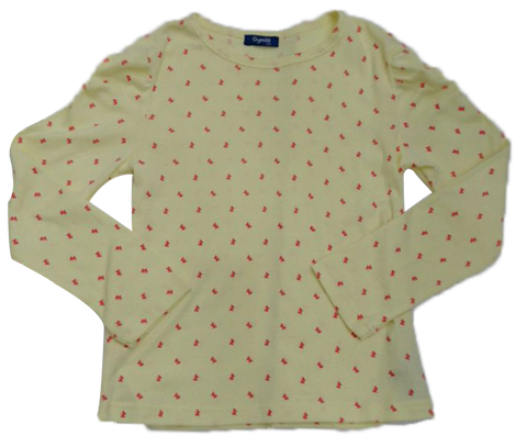 GYMMIT LONG SLEEVE BUTTERFLY DOT