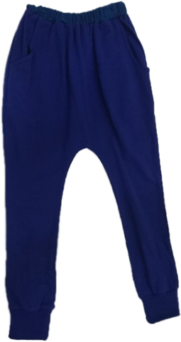 GYMMIT NAVY EXHAUST PANTS