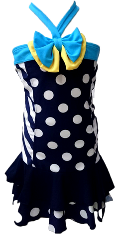 GYMMIT POLKA DOT SWIMSUIT SET