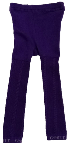 GYMMIT PURPLE TIGHTS CABLE STRAIN