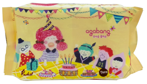 Agabang Wet Tissue 70pcs