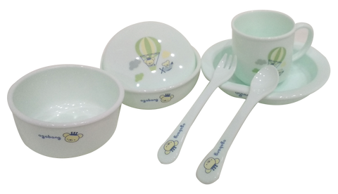 Crown Bear Eco Dish Set