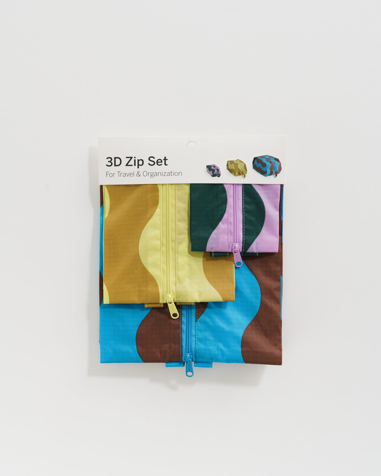 3D Zip Set - Wavy Stripes