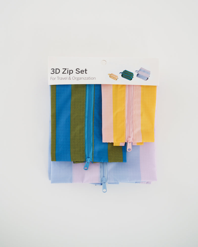 3D Zip Set - Leisure Stripes