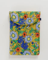 """Puffy Laptop Sleeve 16"""" - Wallpaper Floral"""