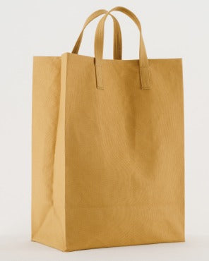 Canvas Market Tote - Brown Paper