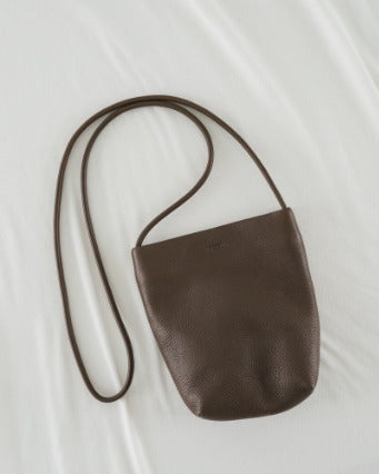 Soft Crossbody Purse - Chocolate