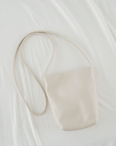 Soft Crossbody Purse - Stone