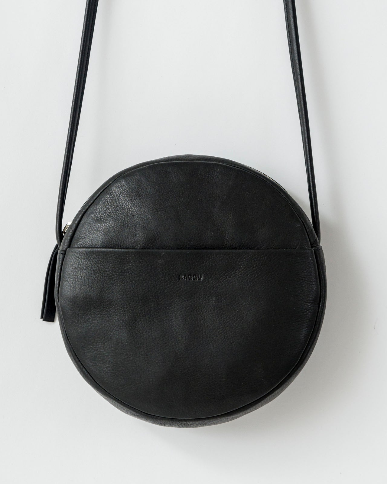 Soft Circle Purse - Black