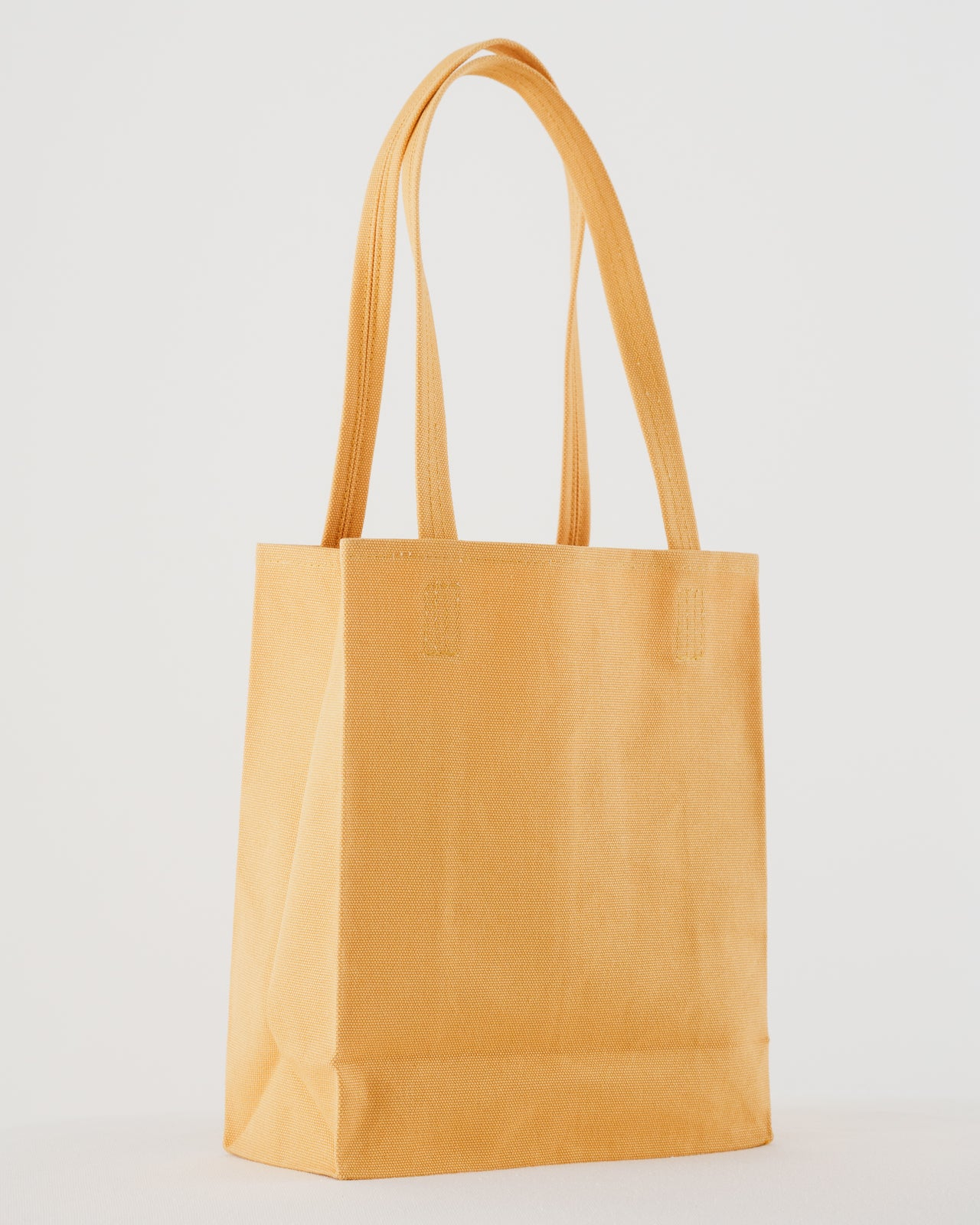 Canvas Retail Tote - Apricot
