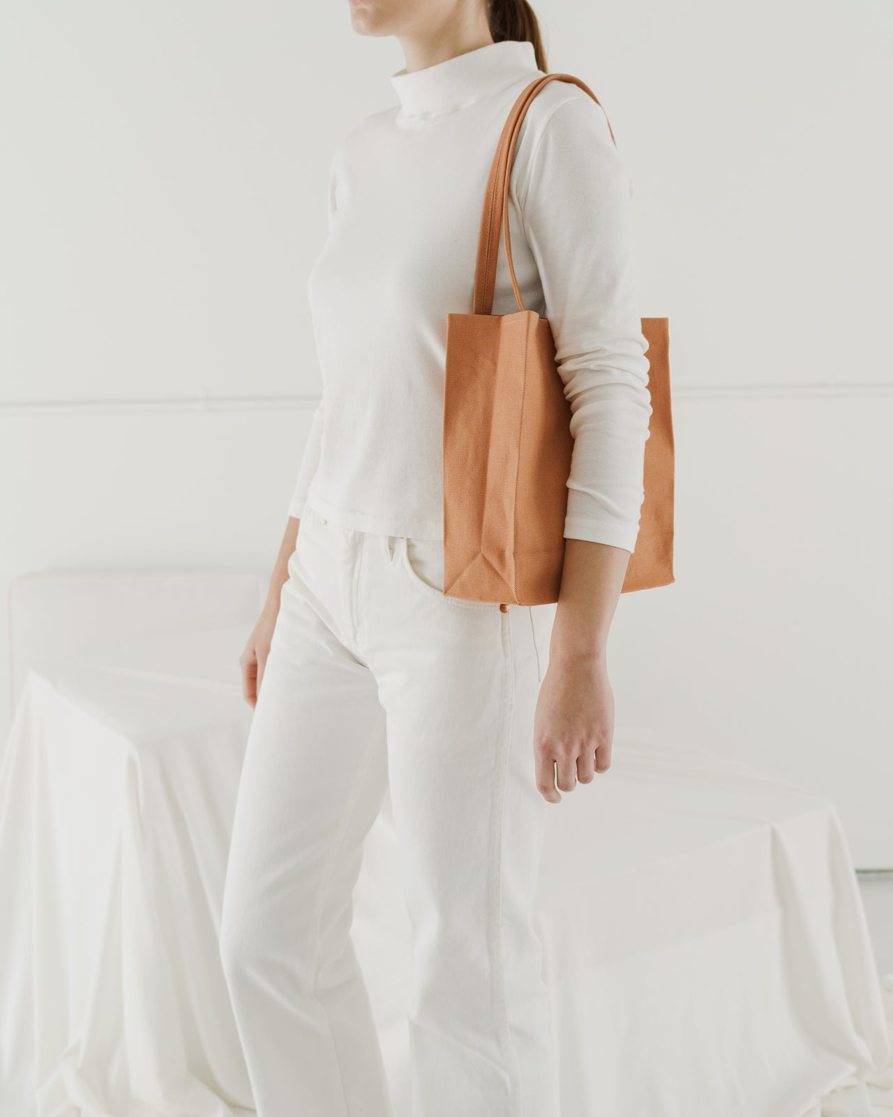 Canvas Retail Tote - Pecan