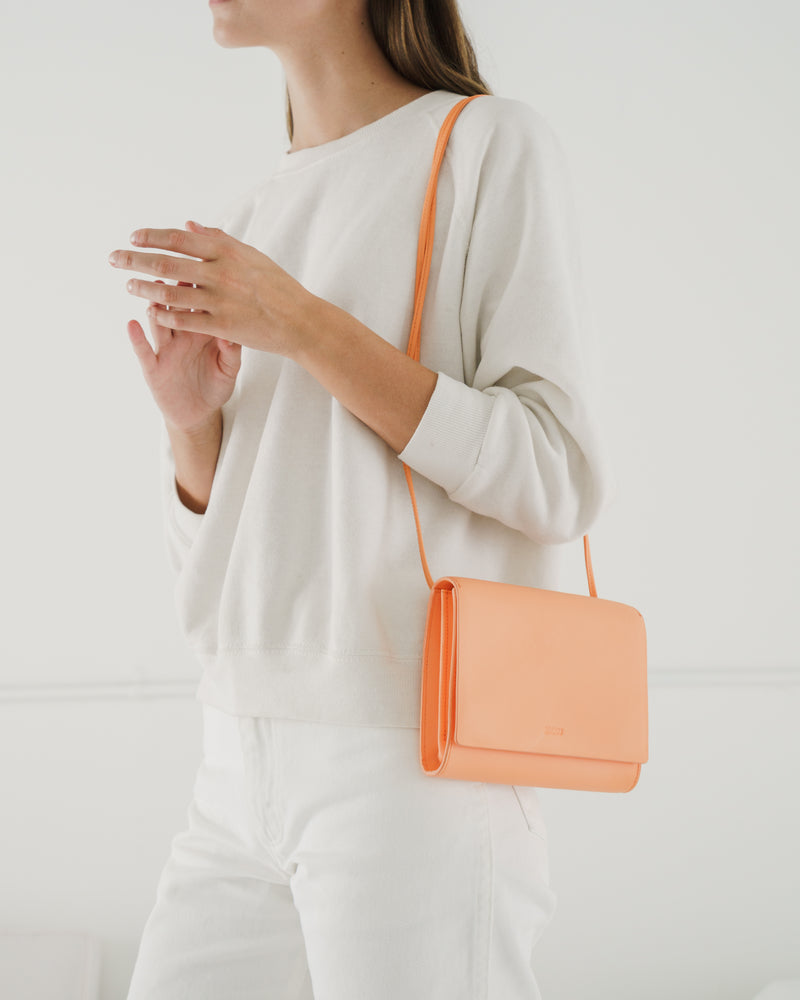 BAGGU Shop All Compact Purse - Orange Sherbet
