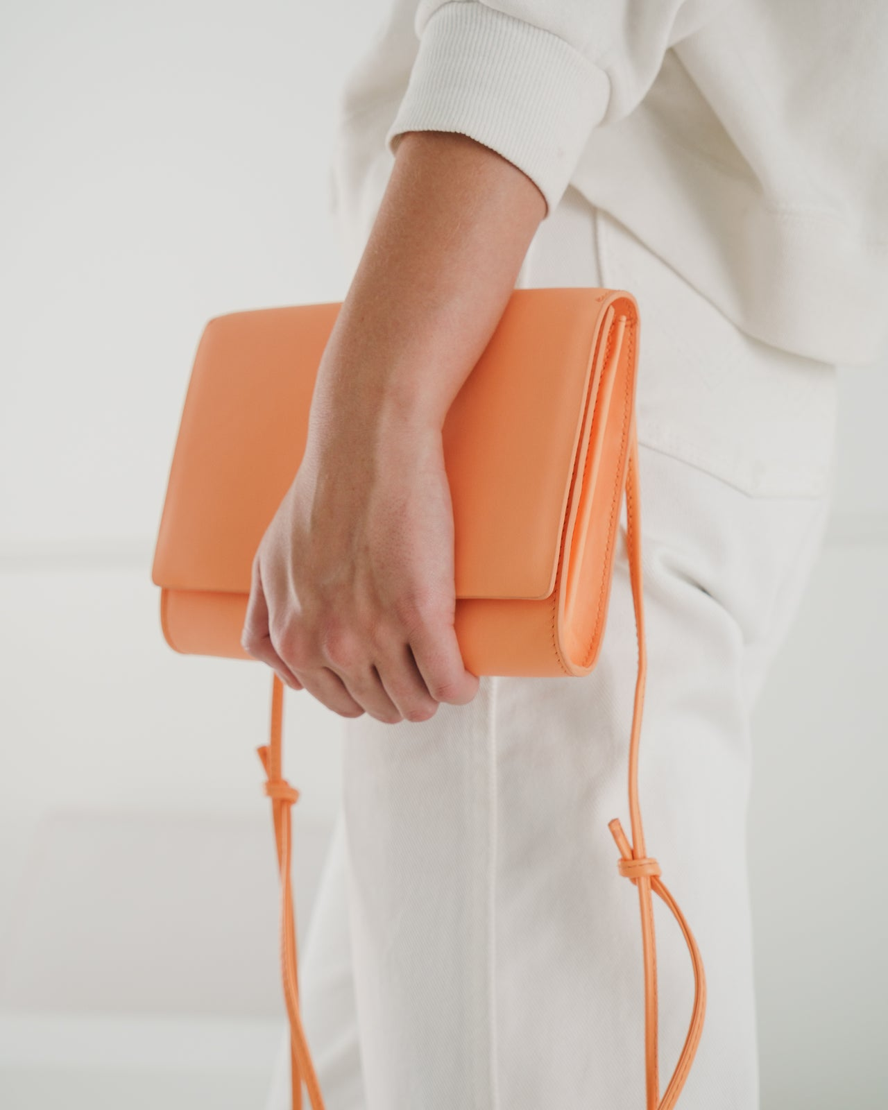 Compact Purse - Orange Sherbet