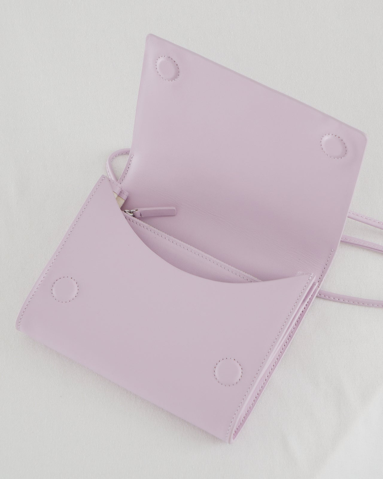 Compact Purse - Pale Orchid