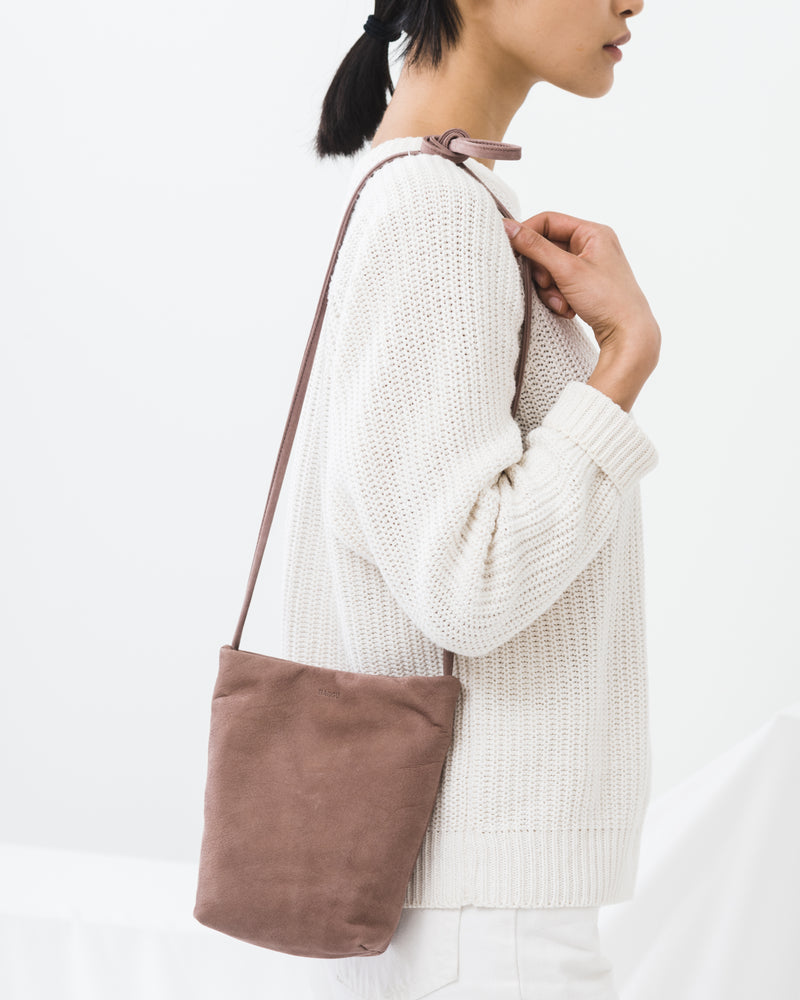 Cross Body Purse - Taro Nubuck