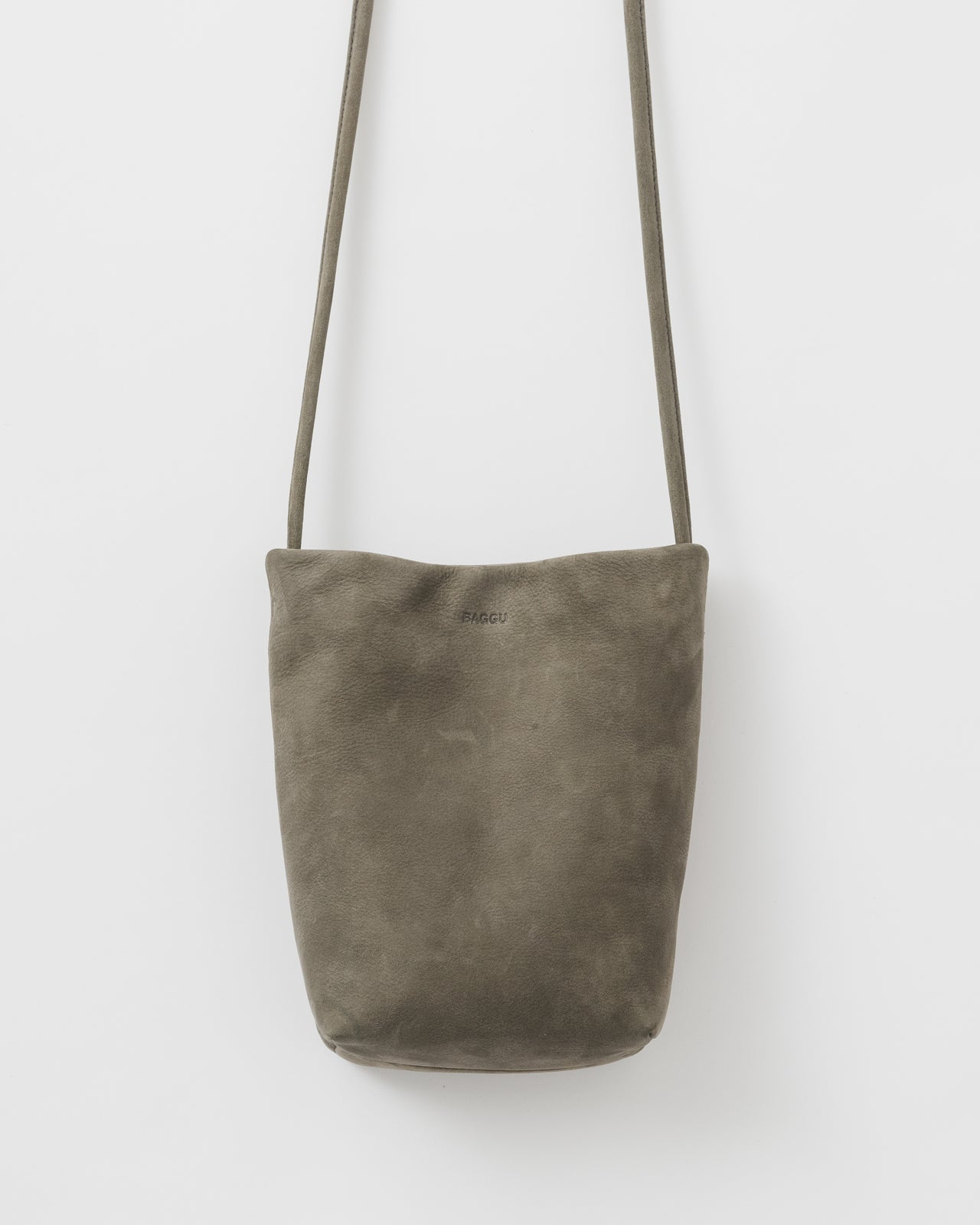Cross Body Purse - Taupe Nubuck