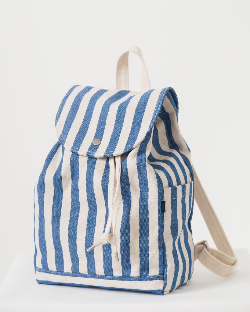 Drawstring Backpack - Summer Stripe