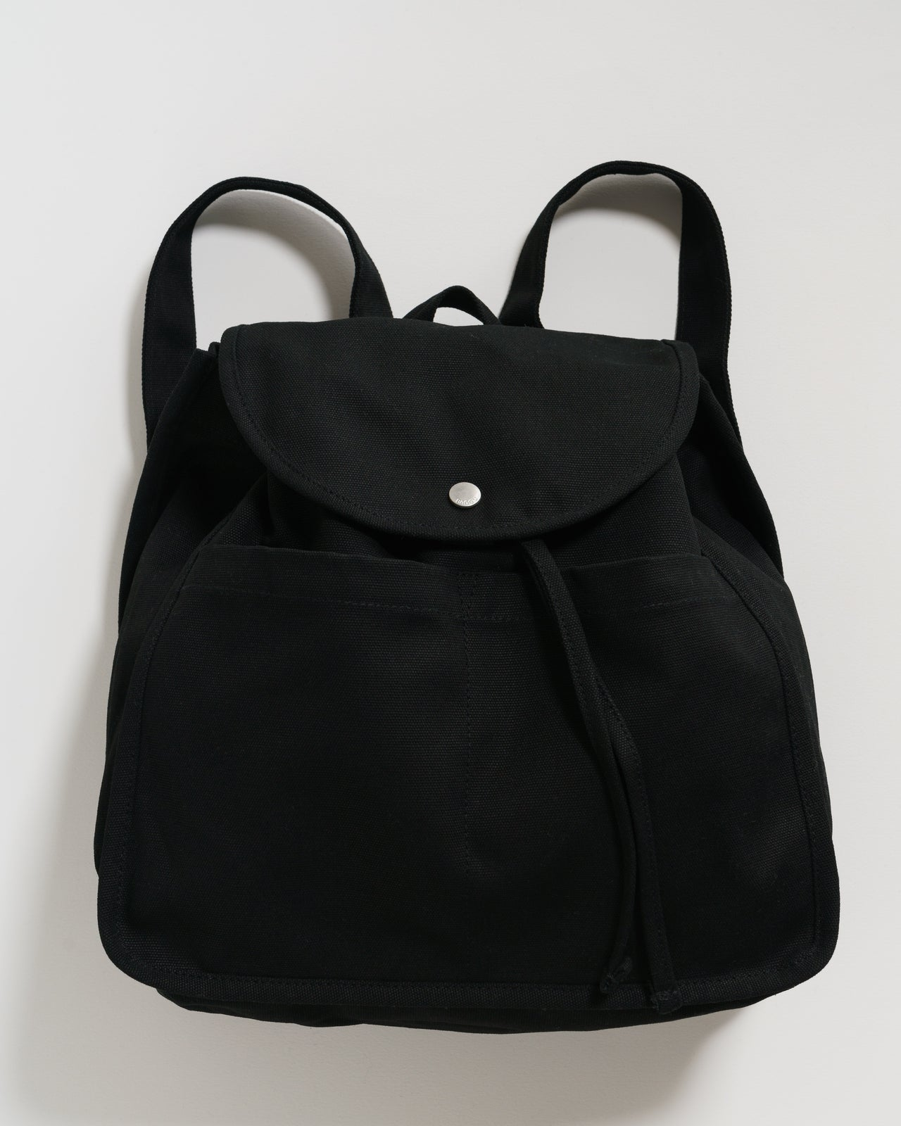 Drawstring Backpack - Black