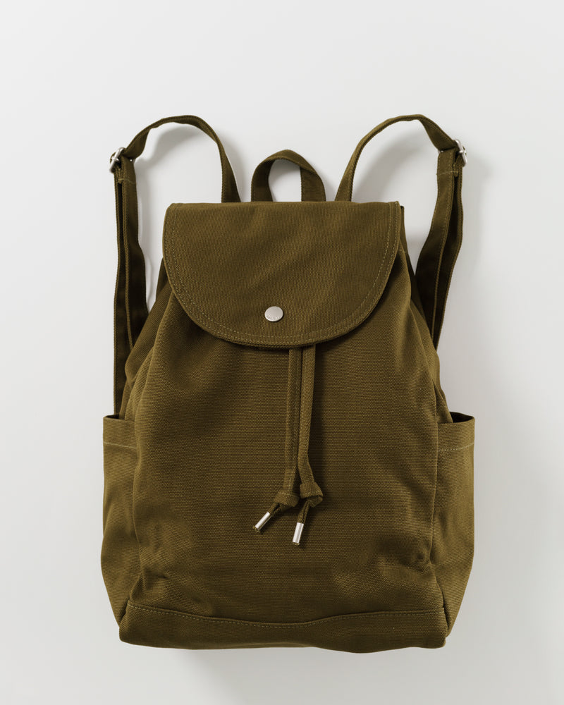 Drawstring Backpack - Kelp