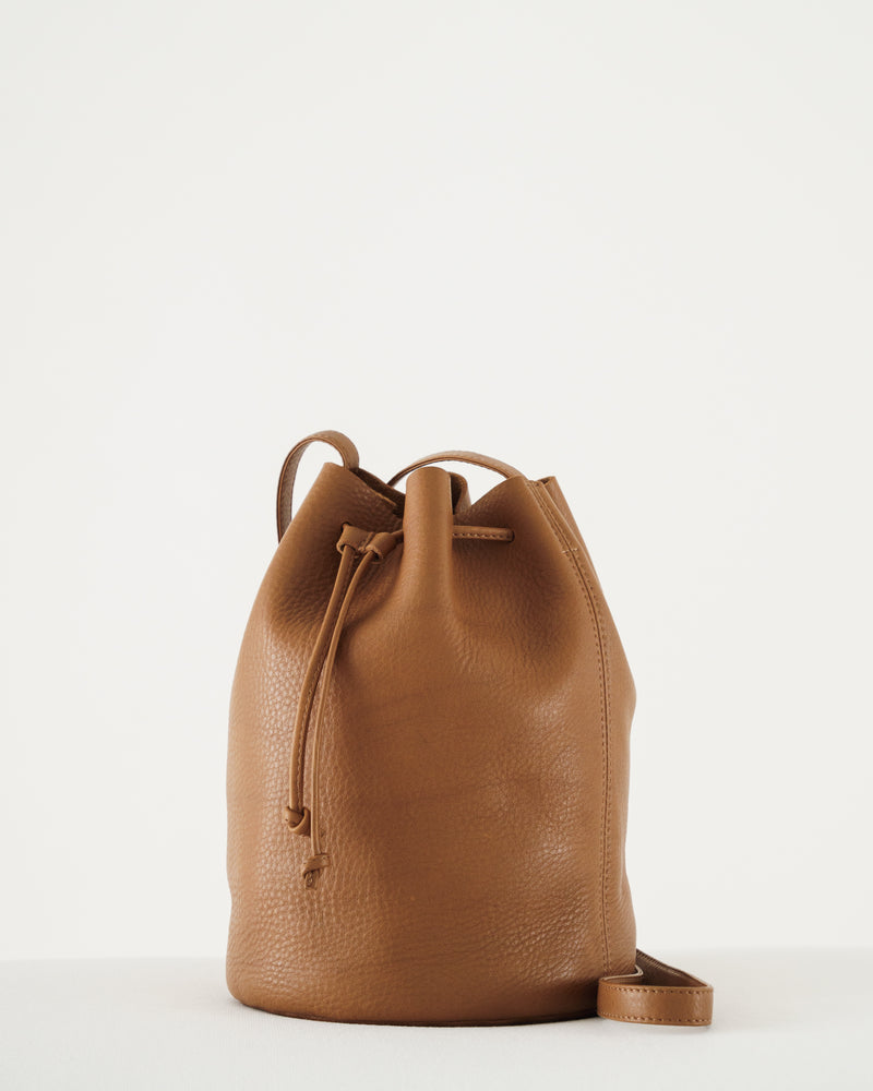 Drawstring Purse - Caramel