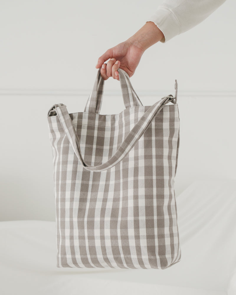 Duck Bag - Dove Plaid