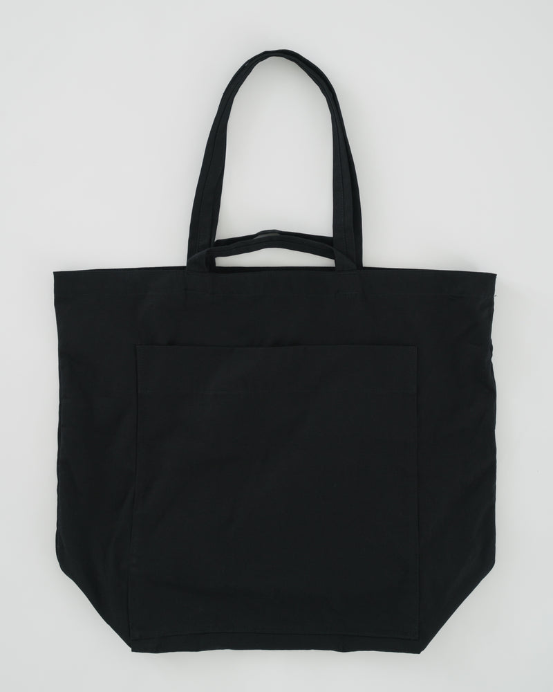 Giant Pocket Tote - Black