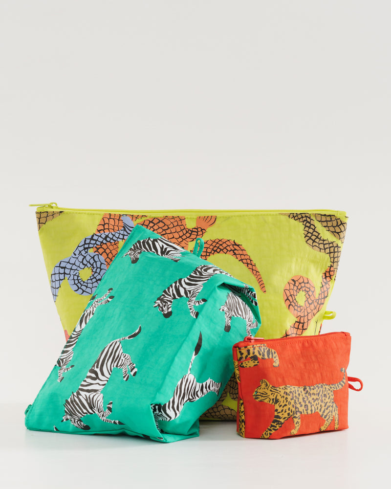 BAGGU Pouches Go Pouch Set - Fancy Animal