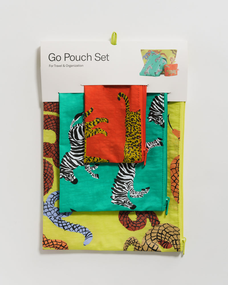 Go Pouch Set - Fancy Animal