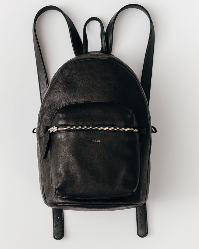 About Leather Backpack Handbags For the ultimate in luxurious look and feel, you can't go wrong with leather. Leather backpack handbags give you that polished look regardless if you're traveling throughout Europe or simply running errands downtown.