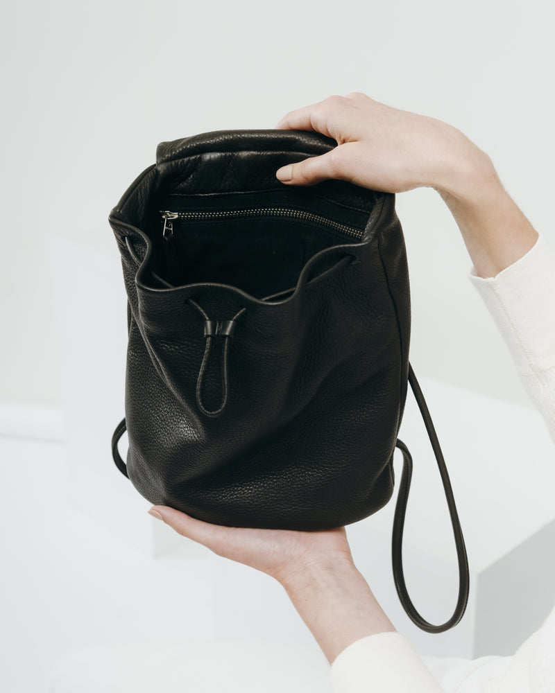 Mini Backpack - Black
