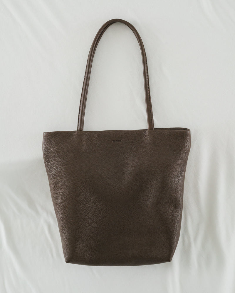 Soft Medium Tote - Chocolate