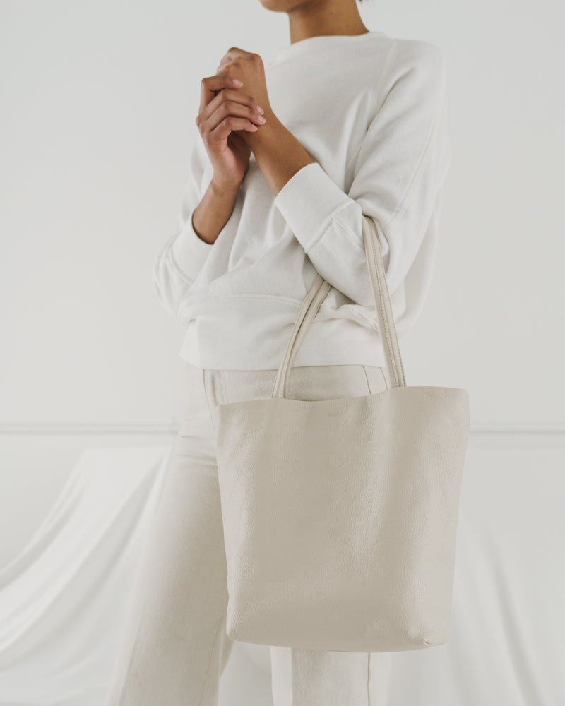 Soft Medium Tote - Stone