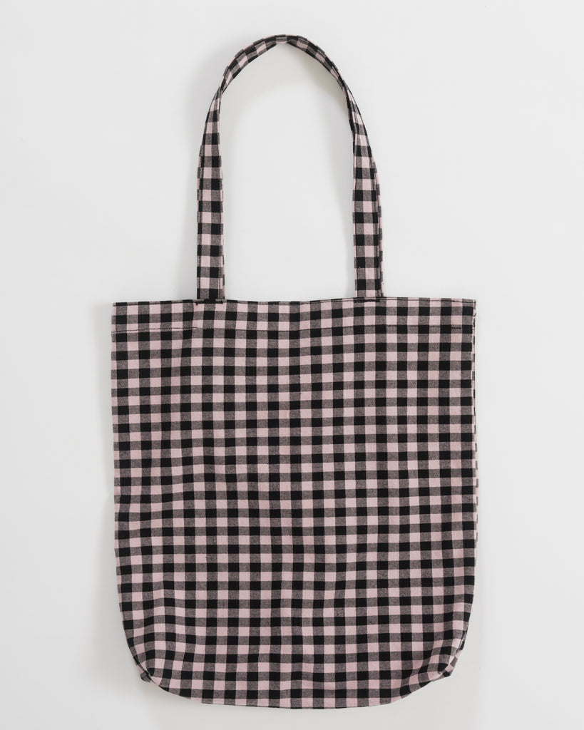 Merch Tote - Blush Gingham