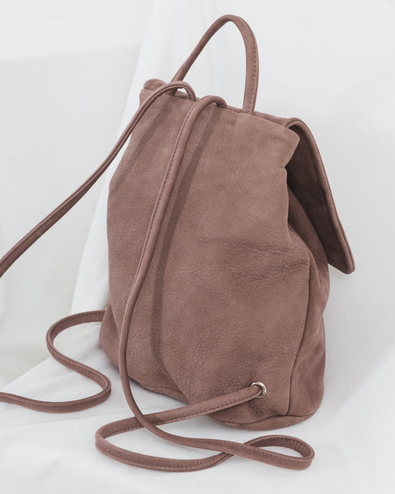 Mini Backpack - Taro Nubuck