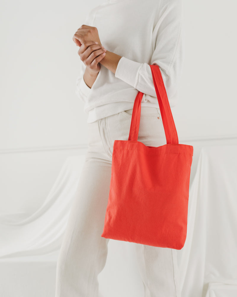 BAGGU  Mini Merch Tote - Warm Red
