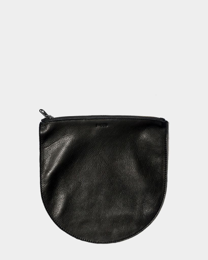 Pouch - Black (Black Zipper)