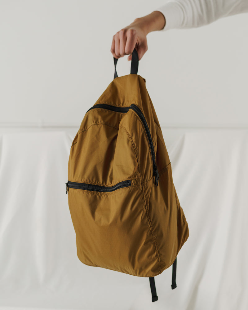BAGGU Travel Packable Backpack - Bronze