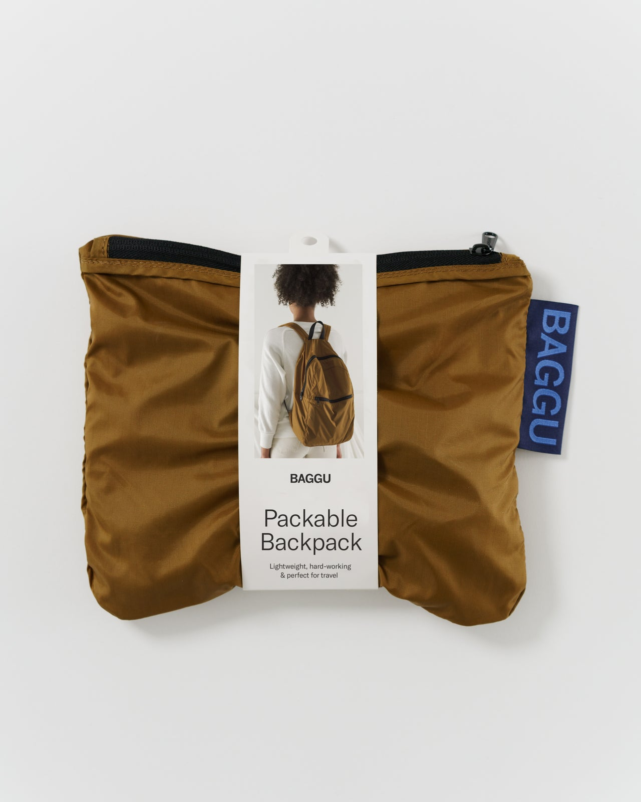 Packable Backpack - Bronze