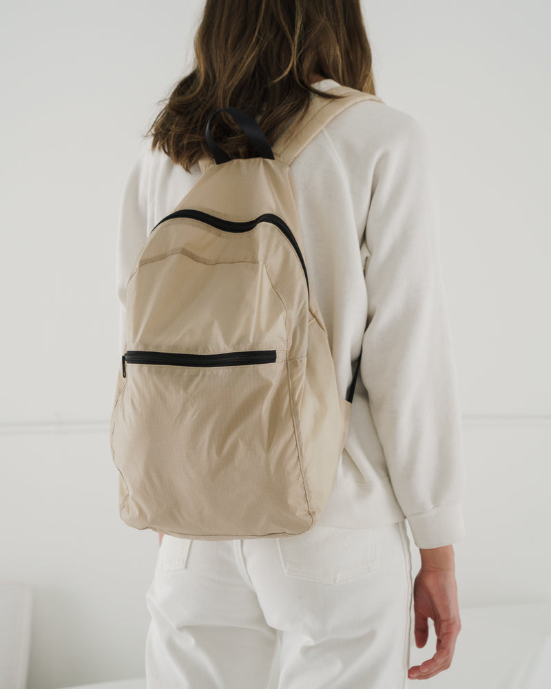 Packable Backpack - Khaki